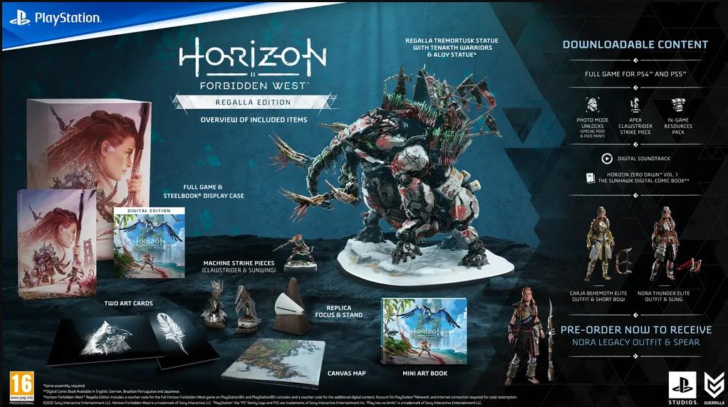 horizon collector's edition