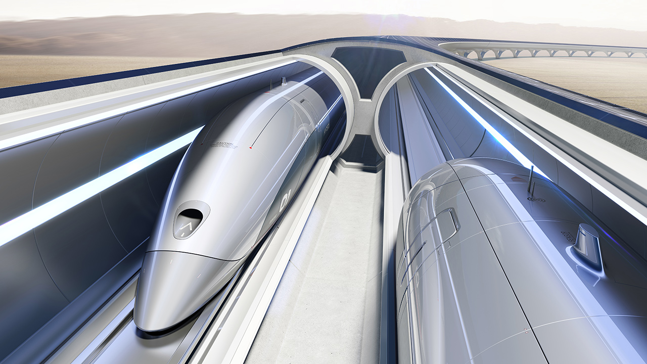 Hyperloop TT, sbarca in Europa il treno supersonico per merci e persone
