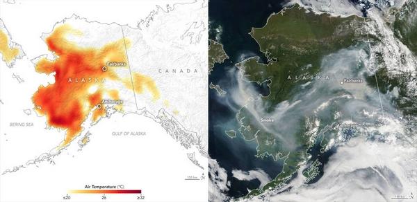 incendi nasa satelliti