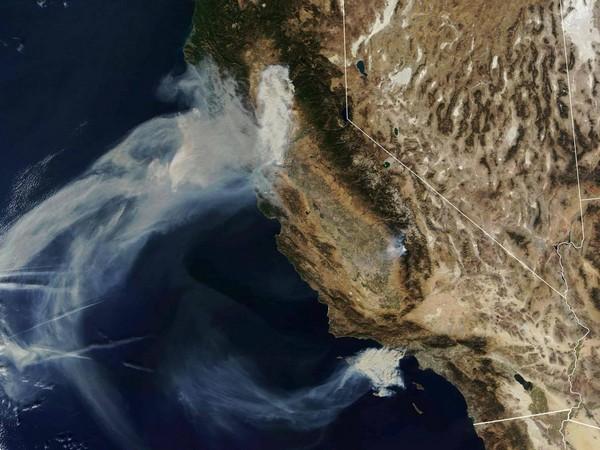 NASA wildfire 2018