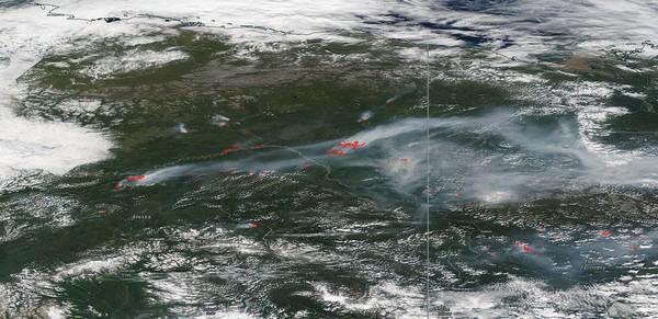 Incendi in Canada e Alaska