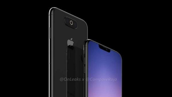 Apple iPhone XI 2019 render
