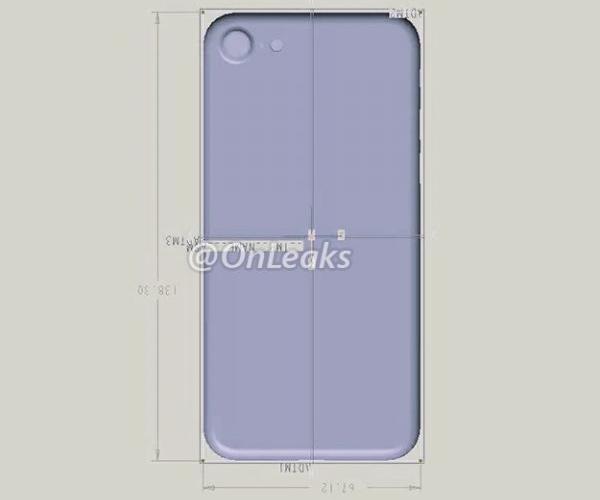 iPhone 7, bozzetti