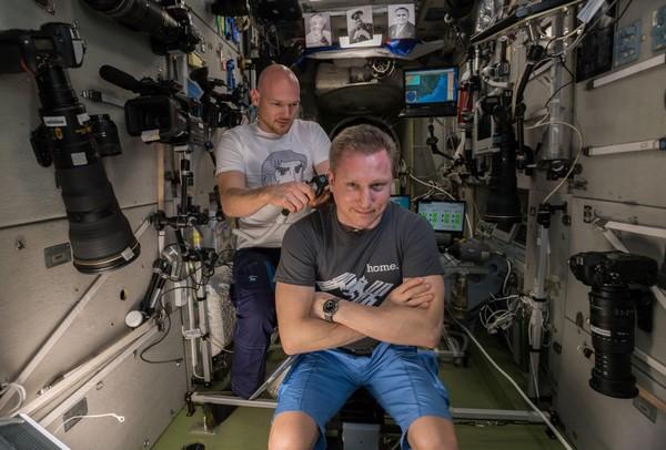 ISS fotocamera