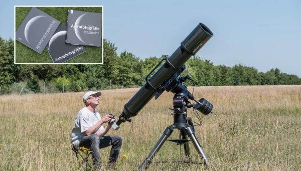 iss telescopio fotografia