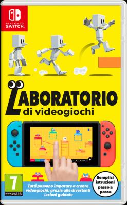 laboratorio di videogiochi retail europa