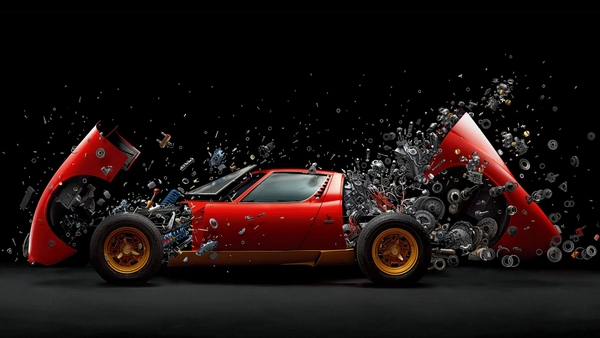 Lamborghini Miura SV foto