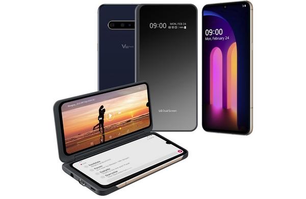 lg v60 smartphone