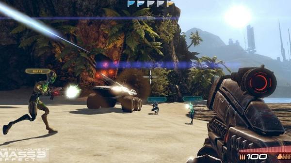 mass effect spin-off team assault