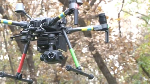 bambino disperso drone dji