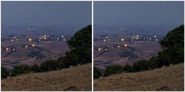 modalità notturna pixel