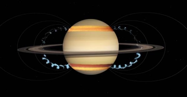 Anelli di Saturno NASA