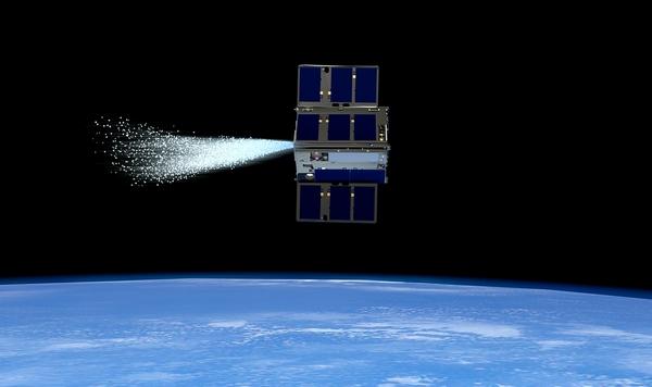 NASA cubesat sciami