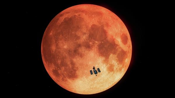 nasa hubble eclissi lunare