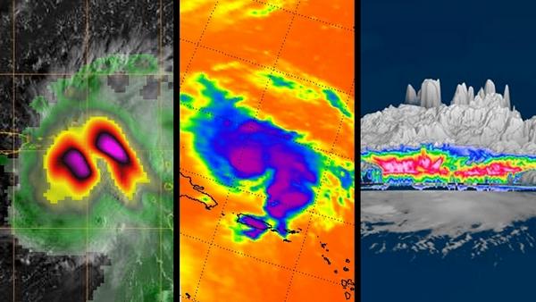 NASA uragano dorian