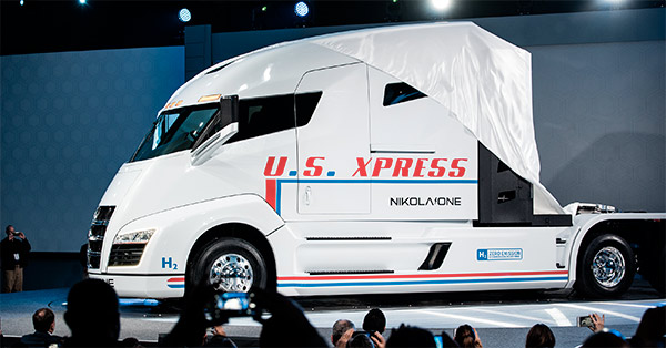 Nikola One unveil