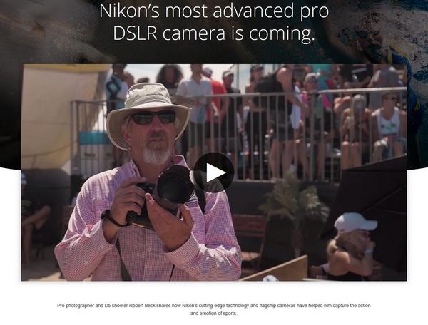 Nikon D6 teaser