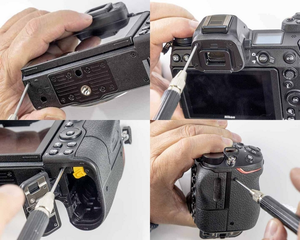 Nikon Z6 teardown