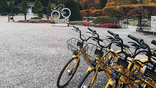 Bike sharing free floating ofo a Varese