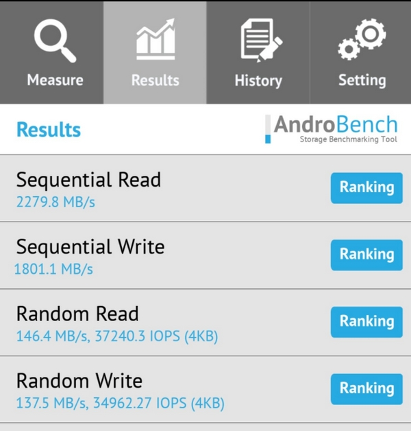 OnePlus 7 UFS 3.0