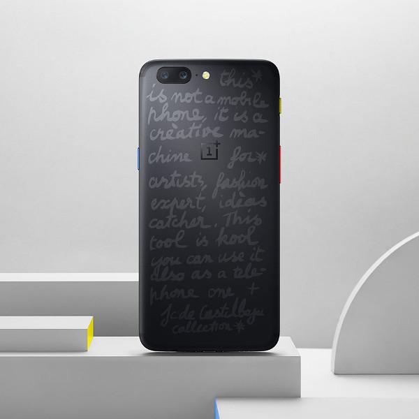 OnePlus 5 JCC Edition, edizione limitata che unisce tecnologia, arte e moda