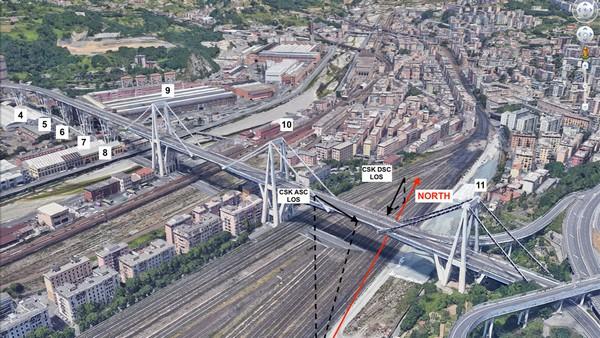 Ponte Morandi NASA
