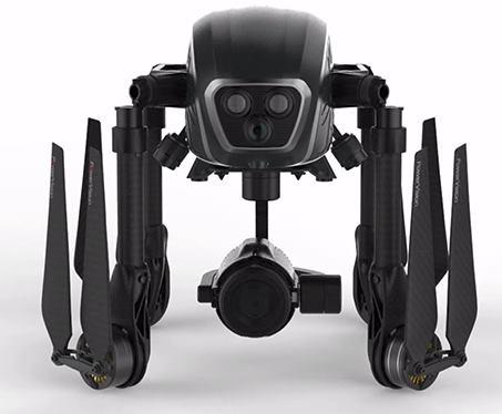 PowerEye: il drone è anche ripiegabile