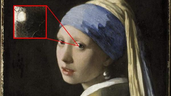 ragazza con orecchino perla