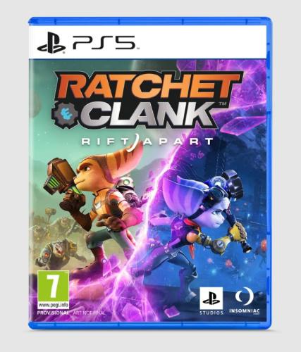 ratchet & clank rift apart boxart