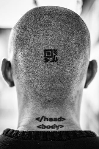 Testa di Sepulveda, tatuaggi