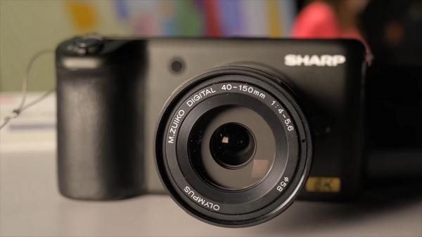 Sharp 8K videocamera CES