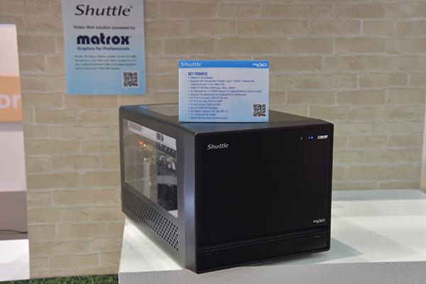 Shuttle, PC con GPU Matrox