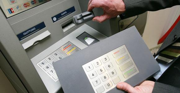 Esempio di skimmer ATM