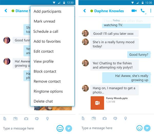 Skype punta alla produttività con l'ultimo aggiornamento