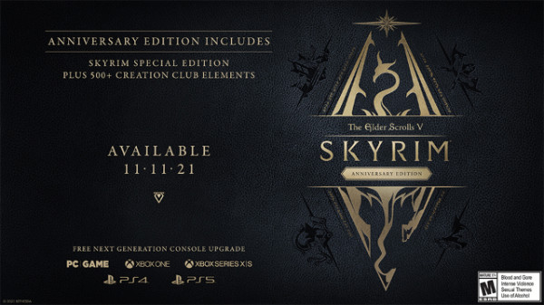 the elder scrolls v skyrim anniversary edition
