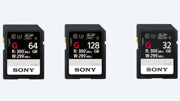 Sony SF-G SDXC