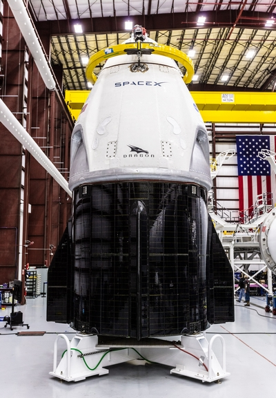 SpaceX capsula equipaggio
