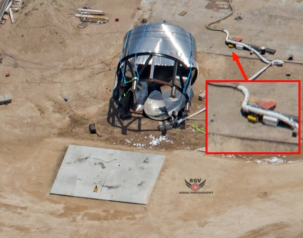 Starship SN7 Zeus robot dog