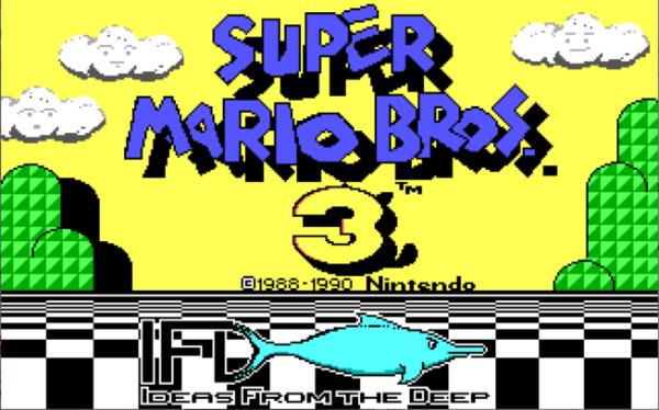 super mario bros 3 pc porting id software