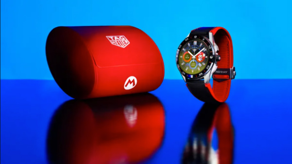 tag heuer super mario connected limited edition