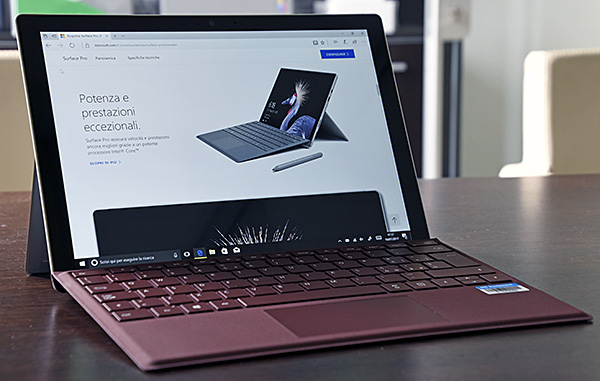 La versione LTE è in arrivo a dicembre — Microsoft Surface Pro