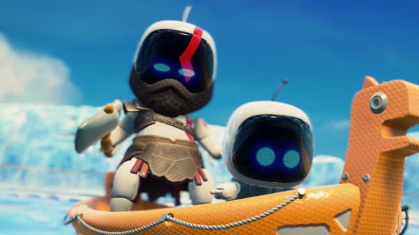 team asobi astro's playroom god of war
