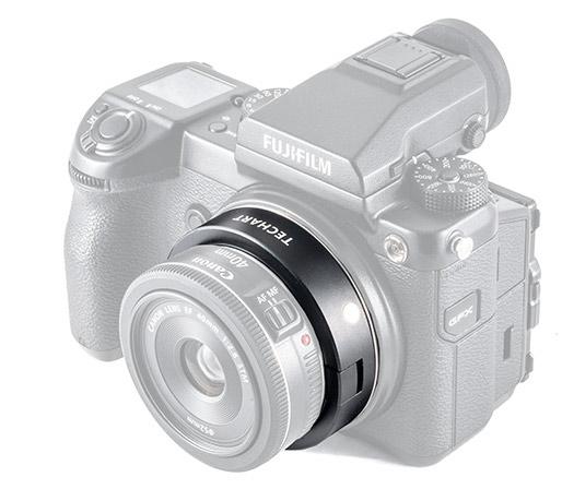 Techart GFX-EF / Canon EF to Fujifilm GFX