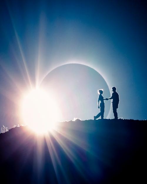 eclissi luna ted hesser