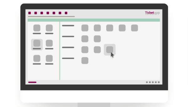 ticketapp express interfaccia web pc mac desktop smartphone tablet