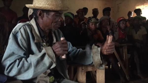 Trottola per diagnosticare la malaria