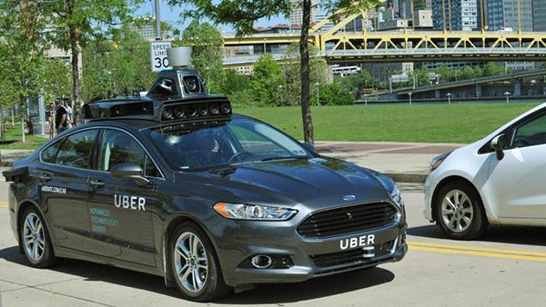 Uber, Ford Fusion a guida autonoma