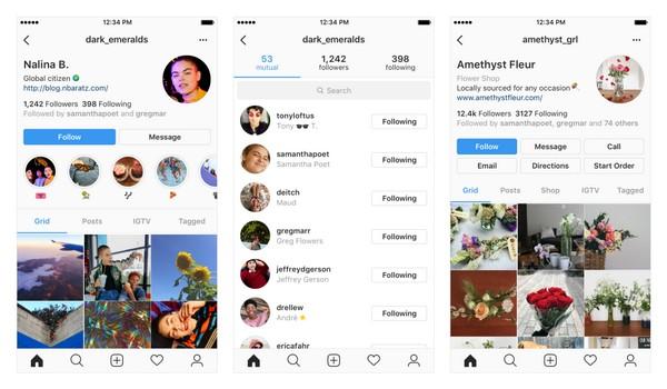 Instagram profilo utente