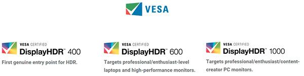 Nasce lo standard aperto DisplayHDR