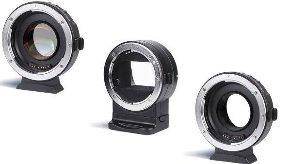 Viltrox Adapters NF-E1, EF-M1 ed EF-M2